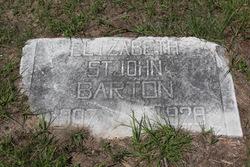 Elizabeth <i>St John</i> Barton