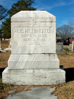 Robert Edward Edd Henington