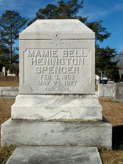 Mamie Bell <i>Henington</i> Spencer
