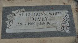 Alice <i>Gunn</i> Devey