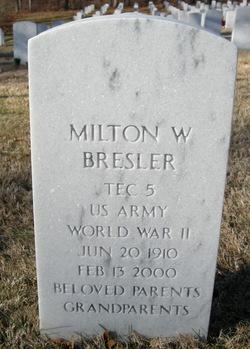 Milton William Bresler