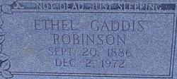 Ethel Gaddis Robinson