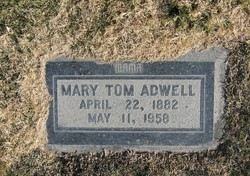 Mary Tom <i>McCue</i> Adwell