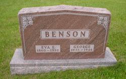 Eva E. <i>Waite</i> Benson