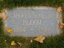 Carolyn <i>Schiller</i> Bloom