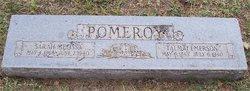 Sarah Melissa May <i>Johnson</i> Pomeroy
