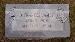 Dora Frances James