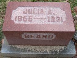 Julia A <i>Squires</i> Beard