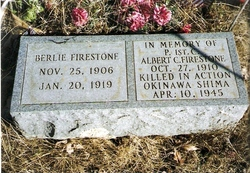Albert C Firestone