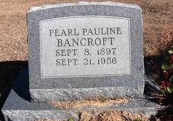 Pearl Pauline Bancroft