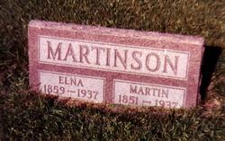 Elna <i>Anderson</i> Martinson