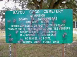 Bayou Coco Cemetery