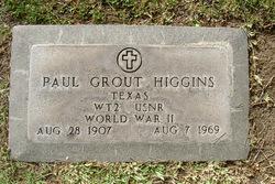 Paul Grout Higgins