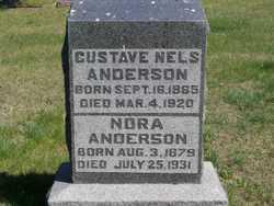Nora <i>Van Horn</i> Anderson