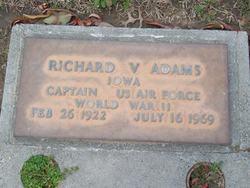 Richard V Adams