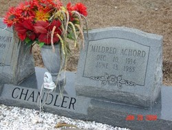 Mildred <i>Arnold</i> Chandler