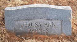 Jerusa Ann <i>Hedge</i> Barnes
