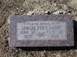 Samual Price Boone