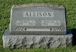 Bertha Amanda <i>Wern</i> Allison
