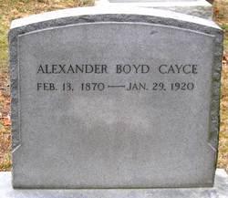 Alexander Boyd Cayce