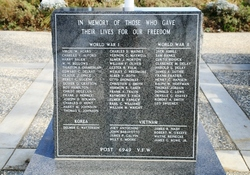 Davis, CA War Memorial