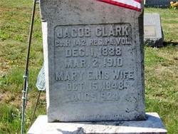 Mary E <i>Myers</i> Clark