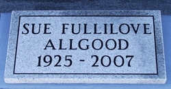 Willie Sue <i>Fullilove</i> Allgood