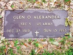 Glen O Alexander