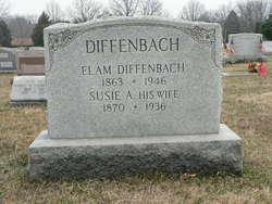Susie A <i>Ranck</i> Diffenbach