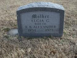 Elgia G. <i>Ballew</i> Alexander
