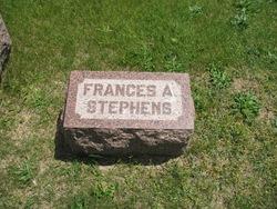 Frances A <i>Aldrich</i> Stephens