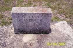 Gertie L Blankenship