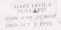 Mary Leola Bullard