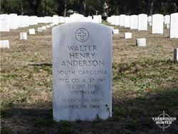 PFC Walter Henry Anderson