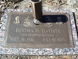 Bertha Holloman Batiste