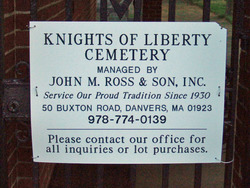 Knights of Liberty Cemetery