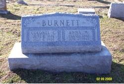 Colonel C Burnett