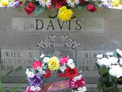 Bertha Rose Adaline <i>Falls</i> Davis