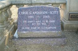 Carol G Anderson-Scott