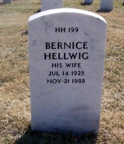 Stella Bernice <i>Holland</i> Hellwig