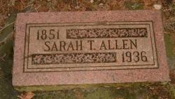 Sarah Thankful <i>Kinney</i> Allen
