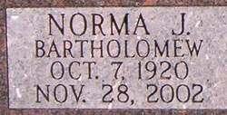 Norma J. <i>Bartholomew</i> Timmerman