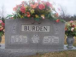Euel Daniel Burden
