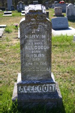 Mary Matilda Allgood
