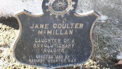 Jane Hemphill <i>Coulter</i> McMillan