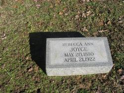 Rebecca Ann <i>Lowery</i> Joyce