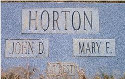 Mary Elizabeth <i>Kearce</i> Horton