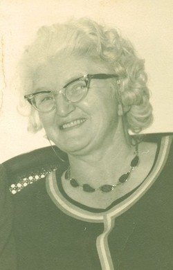 Mary Oveda Bonnie <i>Davis</i> Thompson