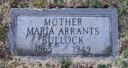Maria E. <i>Arrants</i> Bullock