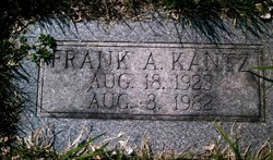 Frank Allen Kantz